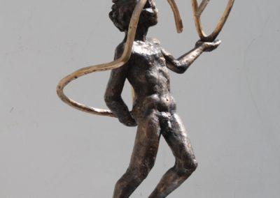 `Jongleur`, Bronze, 50 cm