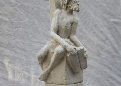 `Moses`, Gips, 40 cm