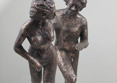 `Paar`, Bronze, 40 cm