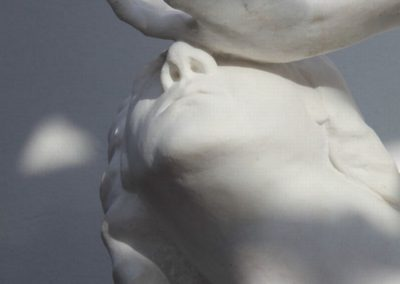 `Sonnefinsternis`, Marmor, 1 m
